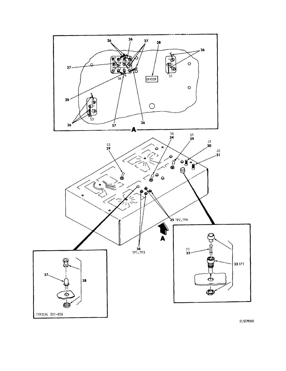 figure 24d  remote access unit breakout box assembly mx g  sheet 2 of 3